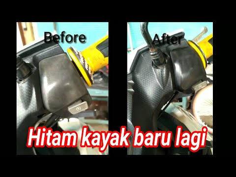 Tips Murah Untuk Membersihkan Body Kasar Motor Terlihat Lebih Hitam