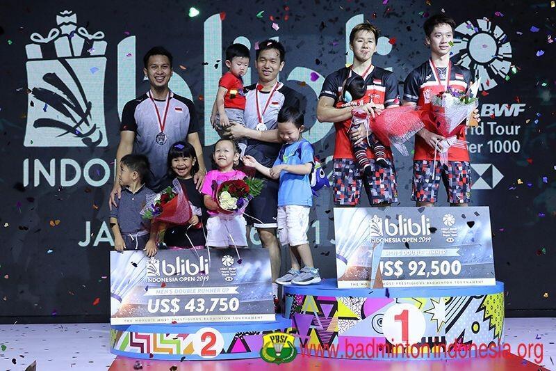 Wakil - Wakil Indonesia Menjadi Unggulan Di Malaysia Masters 2020
