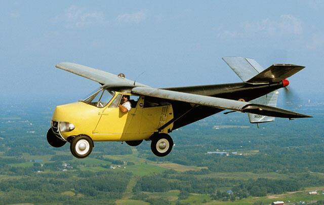 Gila...Rp 14 M Harga untuk Mobil Terbang Jadul ini