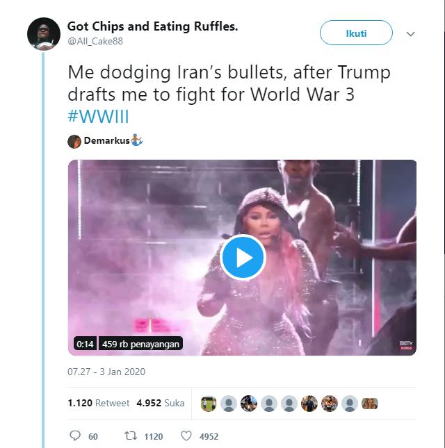 Kocak Abis! Perang Dunia III Jadi Meme di Twitter dan Tiktok