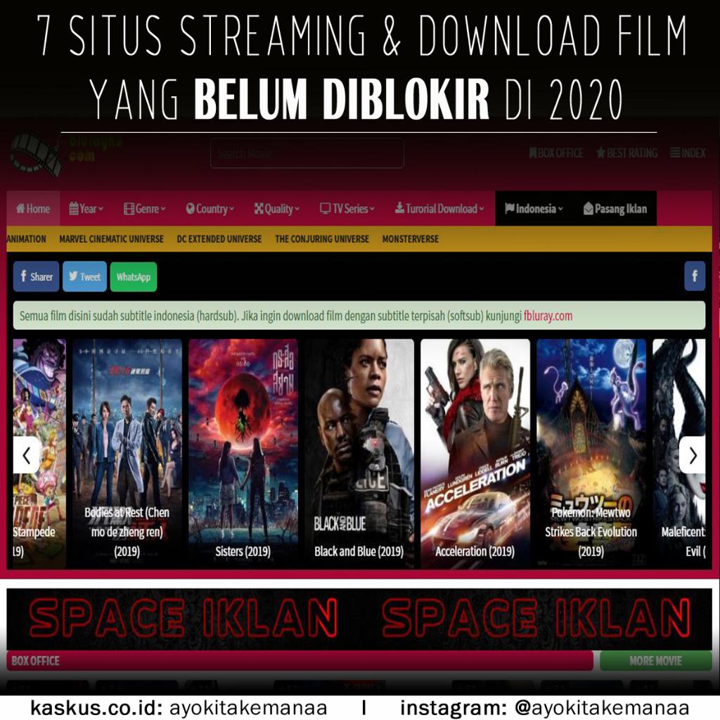7 Situs Download Dan Streaming Film Yang Belum Diblokir 2020 Resolusi Blueray 720p HD