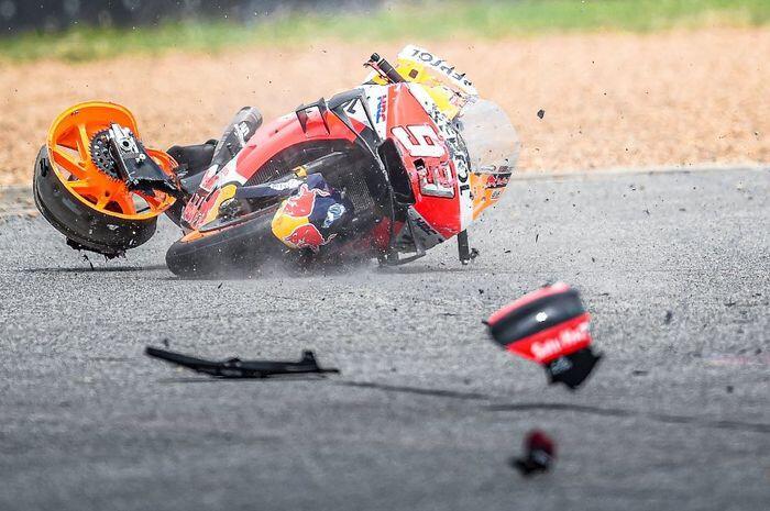 Butuh Hingga Milyaran Rupiah untuk Servis Motor MotoGP yang Alami Kecelakaan