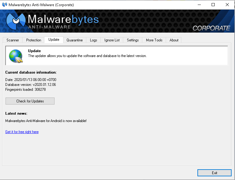 [share] antivirus Malwarebytes corporate 1.80.1.1011
