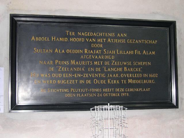 Kesultanan Aceh dan Pengakuan Kedaulatan Belanda dari Spanyol
