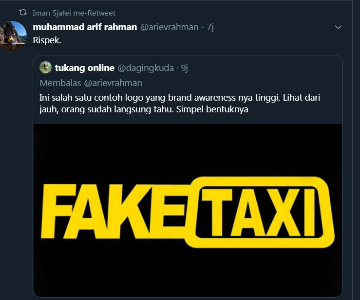 Logo Baru Kemenparekraf Dibully Netizen, Disamakan dengan Fake Taxi