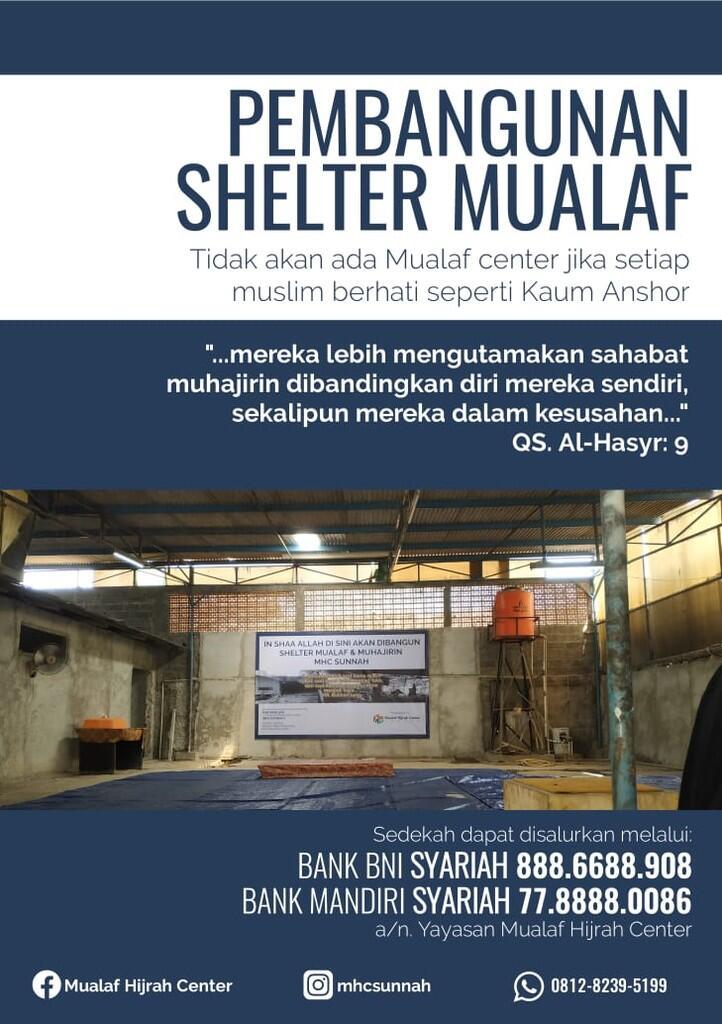 Rumah Perlindungan Muallaf & Muhajirin