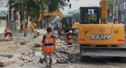 Pemprov DKI Siapkan Rp 1,056 Triliun untuk Bangun 97 Kilometer Trotoar