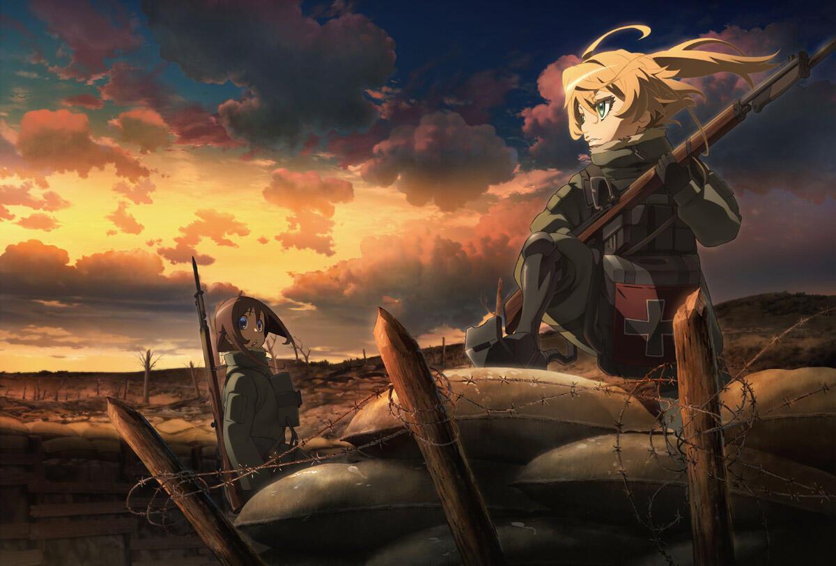 10 Anime Bertemakan Perang dan Militer Terbaik