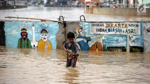 Banjir Jakarta, sudah ada sejak jaman Tarumanegara