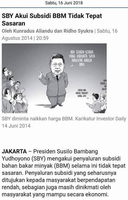 Tengku Zul Sebut Subsidi Era Soeharto dan SBY Meringankan Beban Rakyat