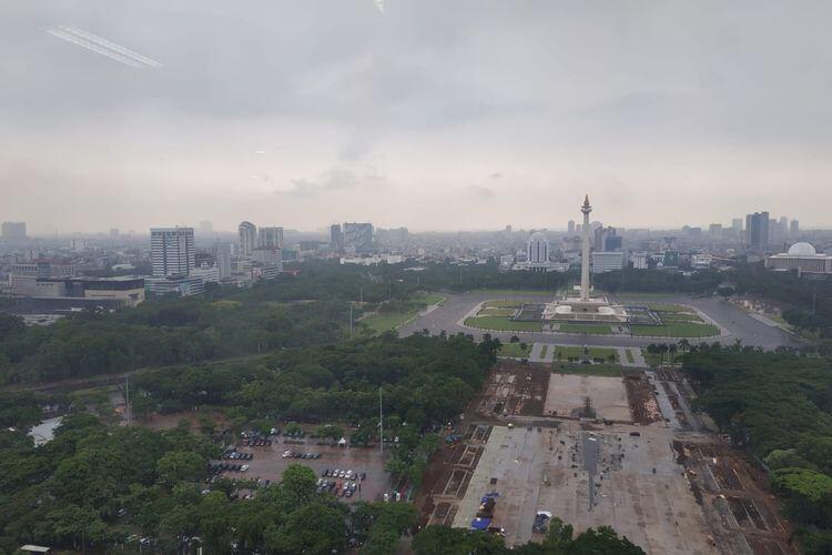 "Nasib Pohon di Monas,Puluhan Tahun Jadi ""Paru-paru"" Jakarta,205 Ditebang Di Era Anies"