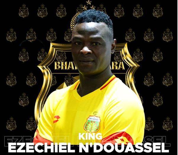 RESMI: Ezechiel Ndouassel Nyebrang dari Persib ke Bhayangkara FC