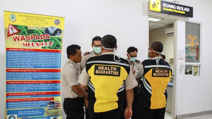 Diduga Ada yang Terjangkit Virus Corona, Gedung BRI II Diisolasi