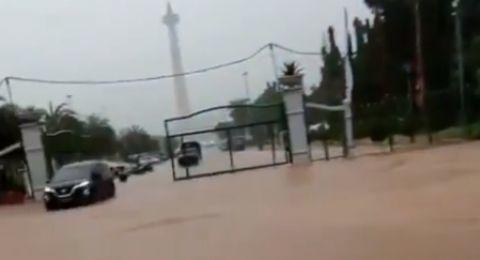 Jakarta Dikepung Banjir Lagi, Anies Malah Pergi ke Luar Kota