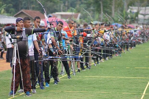 NFBS Lembang Pro Archery Championship 2020 Diikuti Peserta Manca Negara