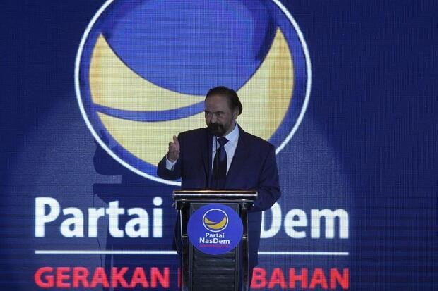 Surya Paloh Minta DPW Lengkapi Struktur Partai di Tingkat Desa