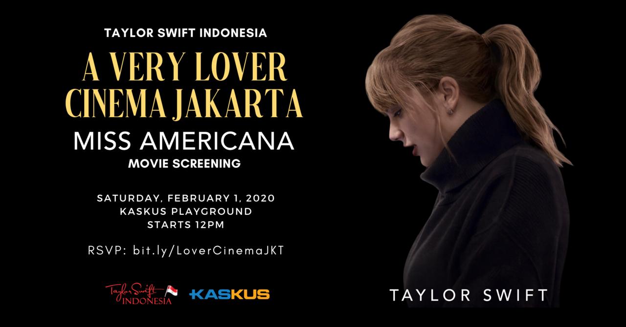 A Very Lover Cinema Jakarta - Movie Screening Event