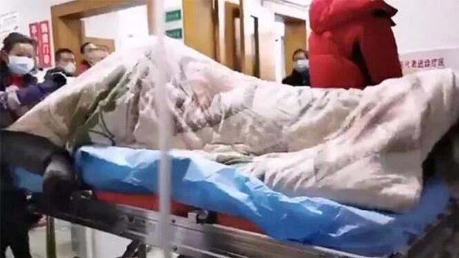 Heboh, Beredar Video Pasien Virus Corona Kejang Hebat di RS Wuhan