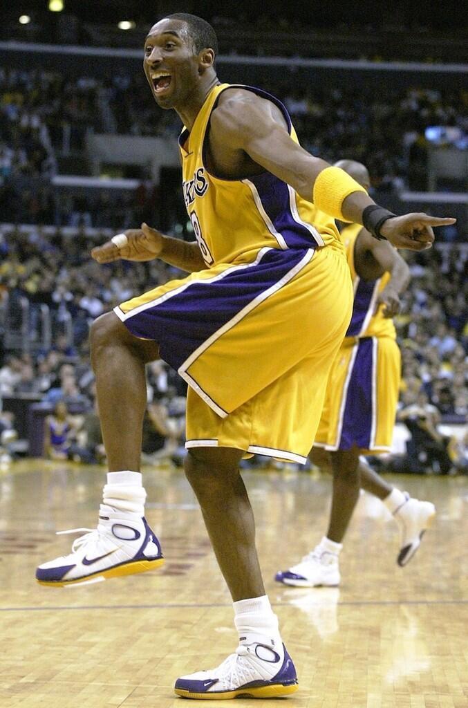 Sepatu-Sepatu Yang Menghantarkan Kobe Bryant menjadi Legenda NBA