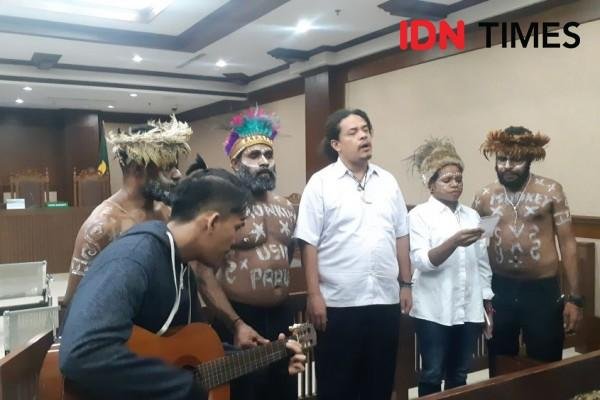 Eksepsi 6 Aktivis Papua Ditolak Hakim Pengadilan Negeri Jakarta Pusat