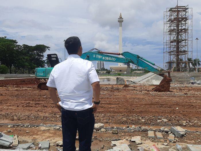 Ketua DPRD DKI Menyesal Setujui Anggaran Revitalisasi Monas