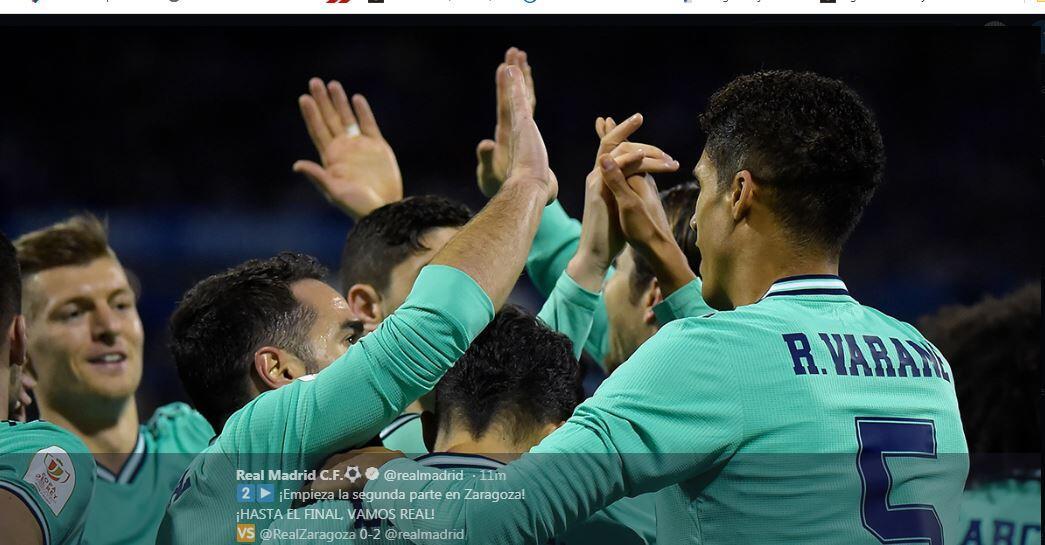 Nasib Real Madrid dan Barcelona di Copa del Rey