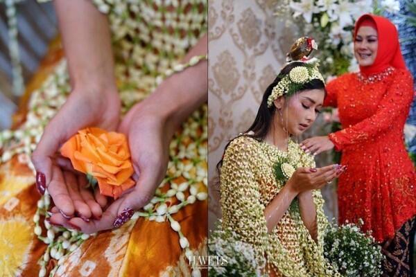 Dekorasi Pengajian hingga Siraman Kevin Liliana, Indah Bertabur Bunga