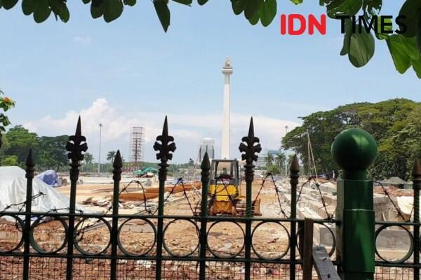 Revitalisasi Monas, Pemprov Jakarta Dinyatakan Malaadministrasi