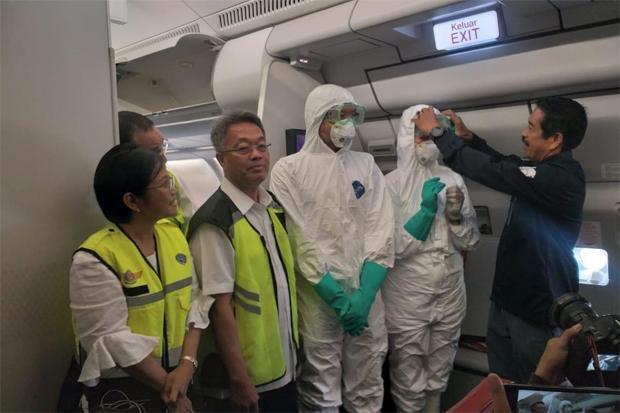 Pulangkan 245 WNI dari Wuhan, Batik Air Pakai Penyaring Udara Khusus
