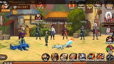 8 Game Bertemakan Naruto Terbaik Versi IOS/ANDROID