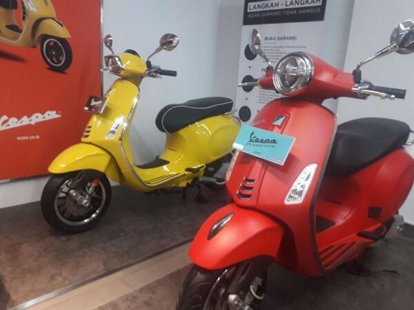 Piaggio Buka Dealer Baru di Jakarta Timur, Promonya Menggiurkan!