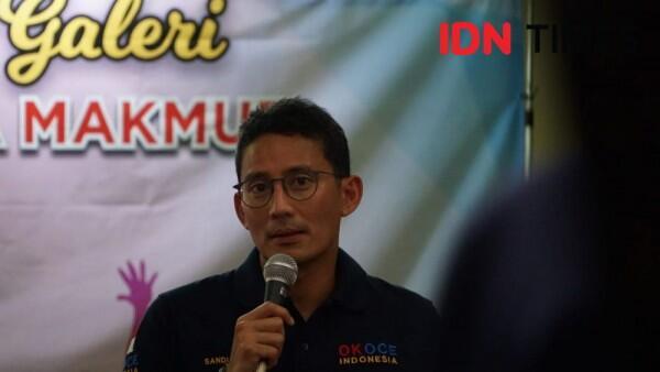 Sandiaga Sebut Warga Jakarta Pasti Senang Jika Risma Ikut Pilgub DKI