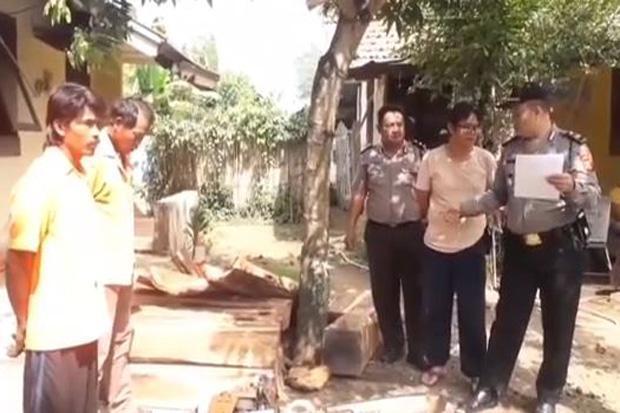 Polisi Tangkap Kakak Beradik Pelaku Pembalakan Liar