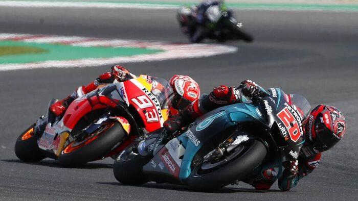 Valentino Rossi Mundur, Quartararo Siap Kudeta Dominasi Marquez