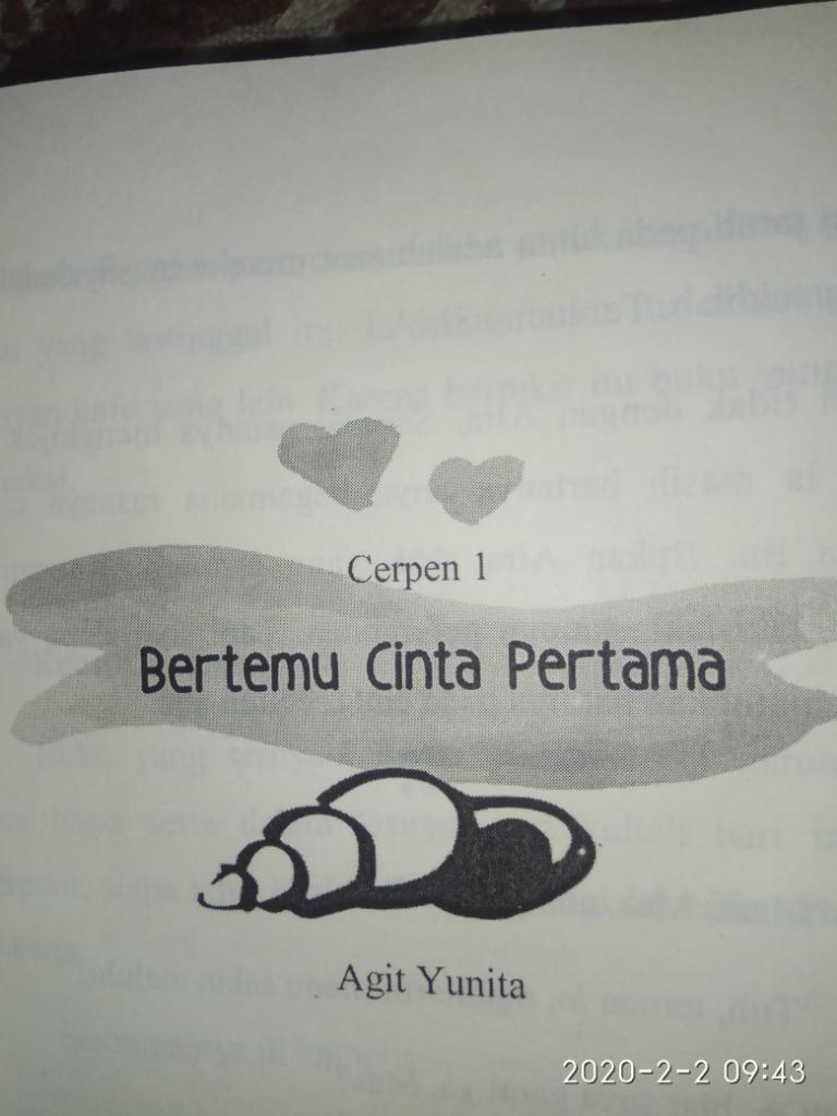 [JTPH] Bertemu Cinta Pertama