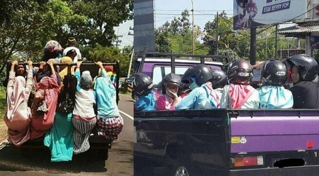 8 Kelakuan Manusia Santuy Saat Naik Mobil Pick Up yang Bikin Gak Bisa Berhenti Ketawa