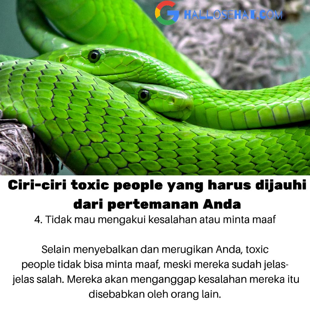 Paling Parah! Jadi Toxic People, Tapi Enggak Sadar!