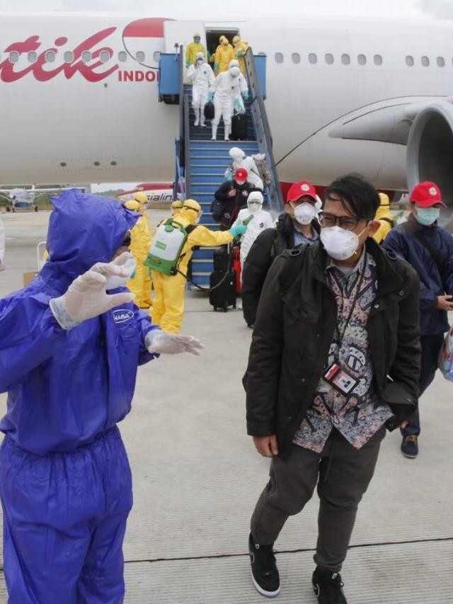 Di Evakuasi Pemerintah Dari Wuhan, Ratusan WNI di Semprot! Semoga Tak Tertular Corona