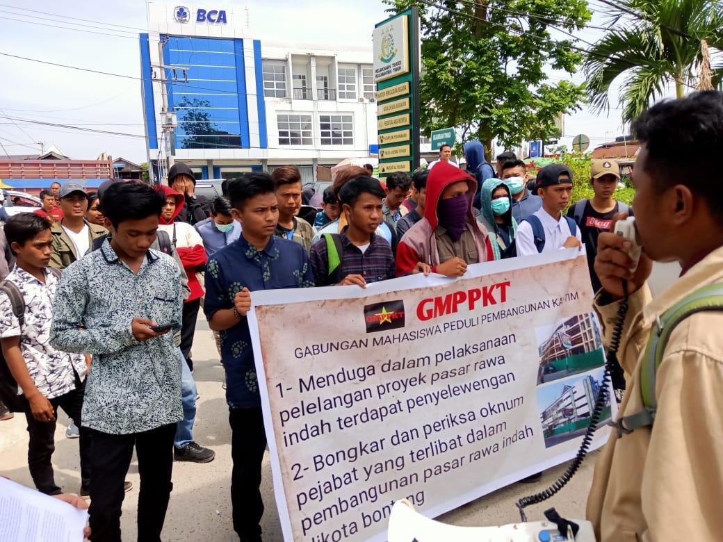 Pembangunan Pasar Rawa Indah Bontang Molor, GMPPKT Duga Ada Kongkalikong