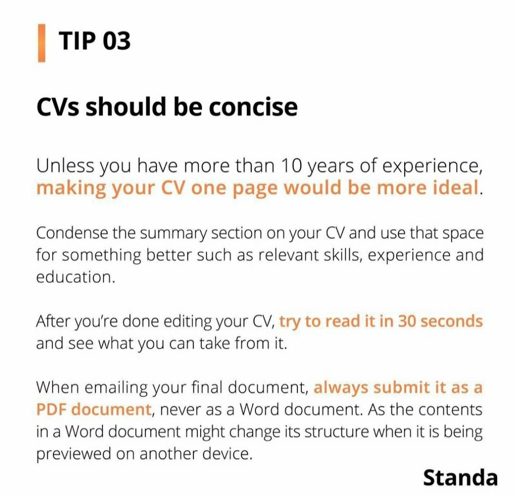 [TIPS] 3 Cara 'Menjual' Dirimu Dalam 30 Detik Melalui CV