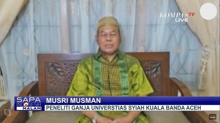 Profesor dari Aceh Sebut Ganja Bisa Obati 30 Penyakit, Dari Virus hingga Kanker