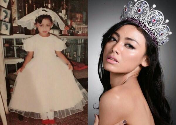 Bikin Gemas! 10 Potret Masa Kecil Puteri Indonesia dari Masa ke Masa