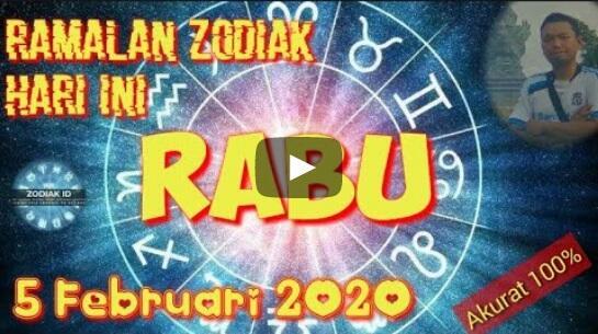 RAMALAN ROY KIYOSHI, RABU 5 FEBRUARY 2020, NASIB REJEKI DAN ASMARA