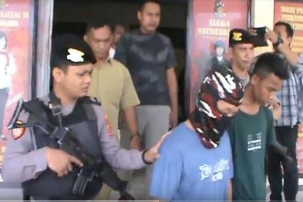 Dua Begal Sadis yang Masih Remaja di Bekuk Polisi