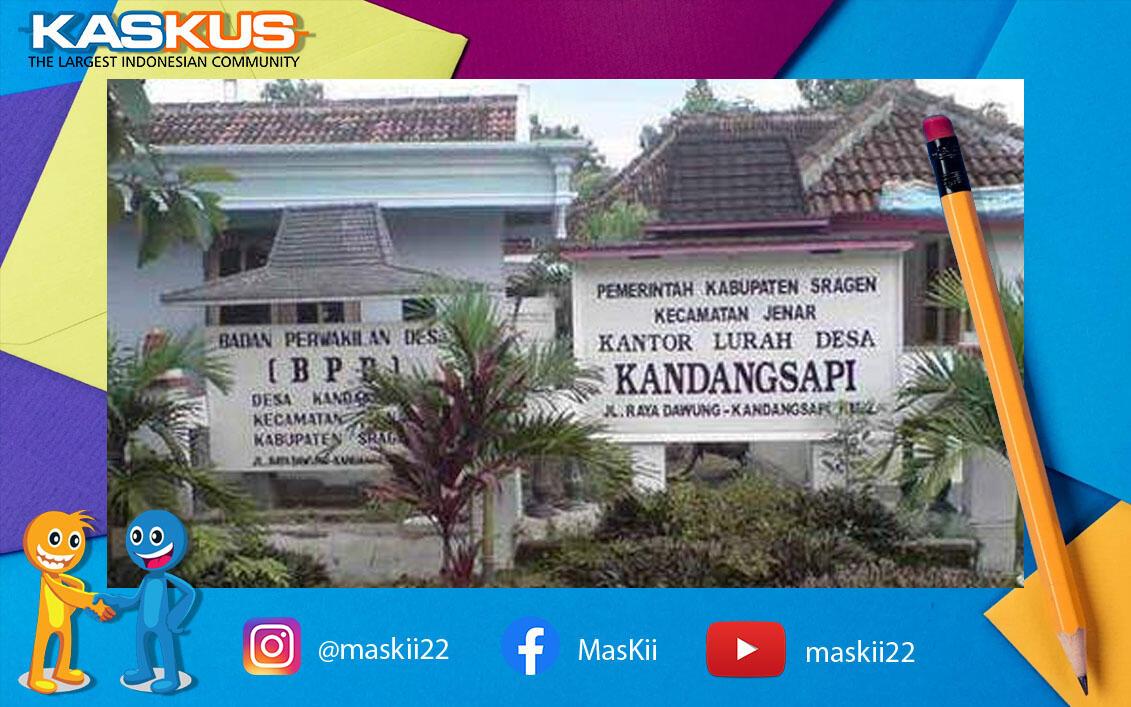 Auto Ngakak! Ada Nama Desa Unik di Indonesia