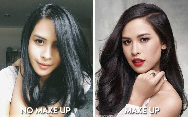 Deretan Artis Bollywod, Korea Dan Indonesia Tanpa Make Up Terlihat Pangling!