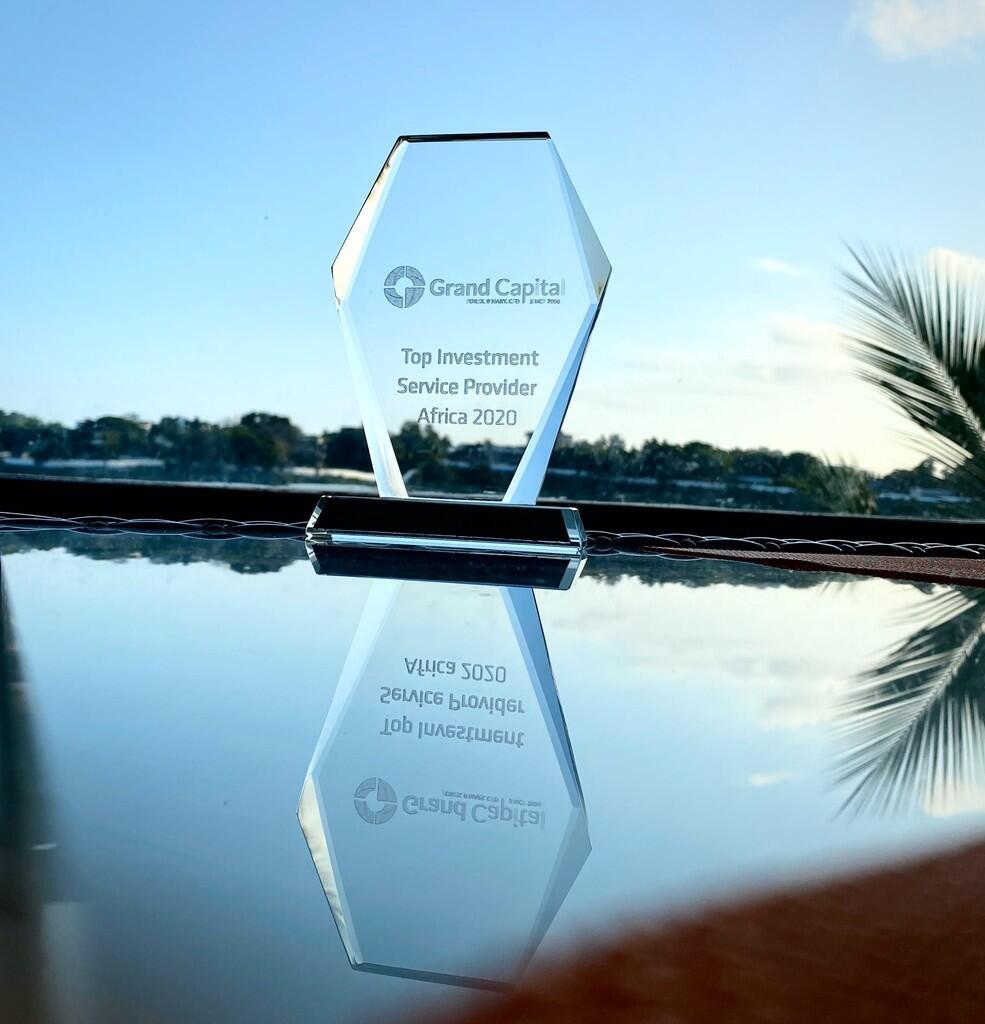 Grand Capital diganjar penghargaan sebagai Top Investment Service Provider