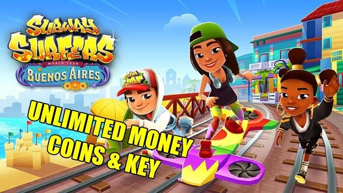Download Subway Surfers MOD APK v1.114.0 Unlimited Coins, Money & Key