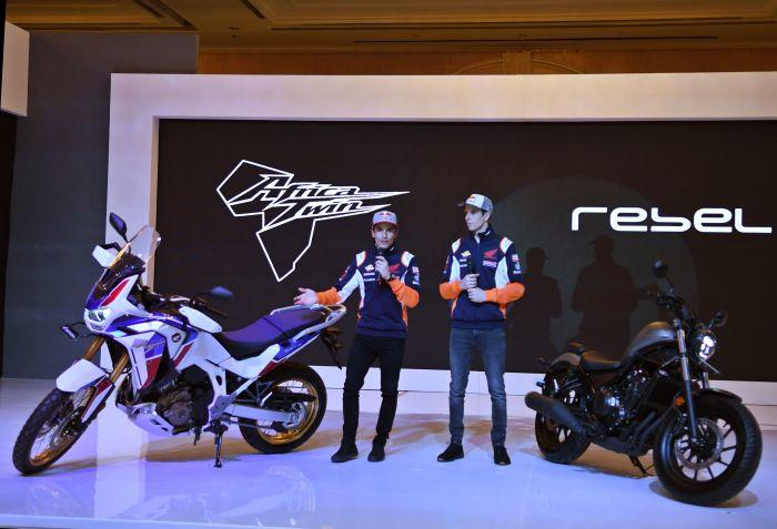 Duo Marquez Main ke Jakarta Sambil Luncurin Motor Terbaru Honda