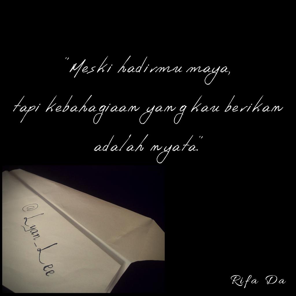 [LOVE LETTER 4] Sebuah Surat untuk Kak Lyan